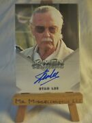 X3 X-men Iii The Last Stand Autograph Card Stan Lee