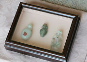 Antique Chinese Snuff Bottle Collection - Custom Shadow Boxandnbsp