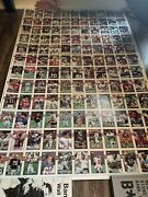 1989 Topps Rare Uncut Sheet Of Football Cards Features Many Players/teams