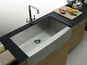 Luxury Extra Thick 16 Gauge Stainless Steel Apron Farmhouse Kitchen Sink 36 Inch