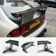 For 2006 Honda Civic 4door Fd2r Typ-r Mug Style Carbon Rear Trunk Spoiler Wing