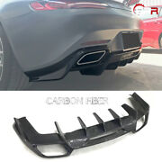 Ren Style Carbon Fiber Rear Bumper Diffuser Body Kits For Mercedes Benz Amg Gt