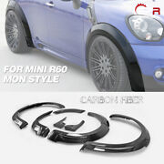 For 10-16 Mini Countryman R60 Fit Jcw Carbon Mon Style Front And Rear Fender +20mm