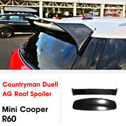 Dag-style Carbon Fiber+ Frp Roof Spoiler Wing For Mini Cooper Countryman R60