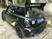 M7 Style Frp Unpainted Rear Trunk Roof Spoiler Wing Kits For Mini Cooper S R56