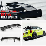 For Mini Cooper S F56 S Only Rk Style Frp Unpainted Rear Roof Spoiler Wing Lip