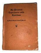 Signed By Gerald Yorke, My Personal Experiences With Spiritism, Occult, Rare