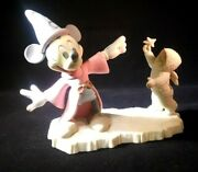 Mickey's New Friend Mickey + Snowbabies Disney And Dept. 56, 1994 Rare 20off