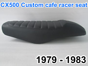 1979-1983 Honda Cx500 Custom Cafe Racer Complete Motorcycle Seat With Metal Seat