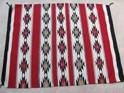 Navajo Weaving - 3and0392 X 4and039 - Weaver Nellie Benally -