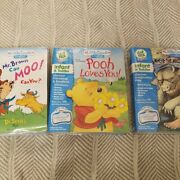 Leap Frog Little Touch Leap Pad Lot Of 3 Nib