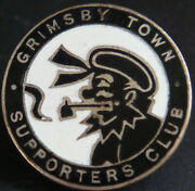 Grimsby Town Fc Vintage Supporters Club Badge Maker Fattorini And Sons Button Hole