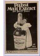 Surreal Real Photo Montage Postcard Rppc - Advertising Pabst Malt Extract Tonic