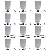 12x Tp3018 For Duramax 6.6 Fuel Filter Replace Ac Delco 12664429 12646512 Tp3012