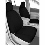 Caltrend Carbon Fiber Front Seat Cover For Chevy 2004-2009 Express 3500 - Cv376