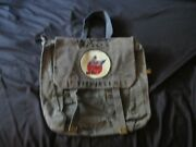Ww2 Usaaf Wasp Disney Fifinella Blue Painted P37 Small Back Pack W/strap