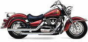 Cobra Chrome Dragsters Full Exhaust For Suzuki Vl 1500 Lc 98-04 3616t
