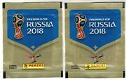 Chile Sold Version 2018 Panini Fifa World Cup Russia 2018 Soccer Sticker Pack