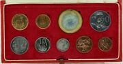 South Africa 1967 Long Proof Coin Set Km Ps69 Fdc