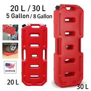 20l/30l Fuel Tank Jerry Gasoline Pack Gas Container Or Lock Fit Car Atv Suv Usa