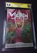 Voltron A Legend Forged 1c Variant Thee Only Cgc 9.8 Ss First Jenny Frison