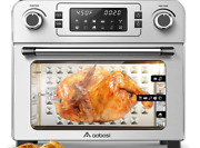 Aobosi Toaster Oven- Electric -air Fryer, Rotisserie, Convection Digital - New