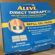 Aleve Direct Therapy Refill Gel Pads 2 Pairs Exp 8/12/2021 - 1 Box