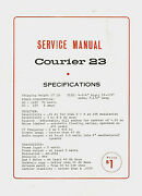 Copy Eci Courier Model 23 23 Channel Cb Radio Service Manual With Schematic