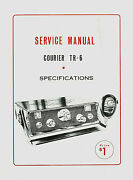 Copy Eci Courier Model Tr-6 23 Channel Cb Radio Service Manual With Schematic