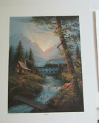 Jesse Barnes 1991 Signed And Numbered Le Print And Coa Daybreak 229 / 2800