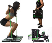 Bodyboss Home Gym 2.0 Full Portable Gym Home Workout Package Handles Lightweight