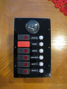 Switch Circuit Breaker Panel Pacific Black Lab Marine 2325 And Other Boats