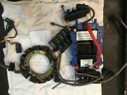 Omc V6 60and039 Ignition System From Running Engine Motor Stator New Power Pack Coil