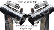 Seapro Electric Switchable Exhaust Diverter 4 Big Block V8 For Gm Mercruiser