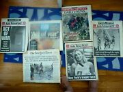 Lot Of 6 9/11 Event Newspapers Ny Post Daily News Ny Times Usa Today Mint Unread
