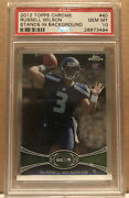 2012 Topps Chrome Russell Wilson Rc Rookie Psa 10