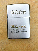 William F. Mckee 1963 Zippo Lighter United States Air Force Four-star General