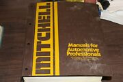 1972-82 Mitchell Chassis Service And Repair Manuals - Domestic Cars