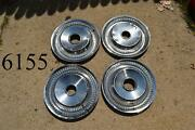 Old Hubcaps 15 Inch Wheel Covers Set Of 4