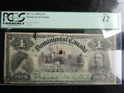 1900 Dominion Of Canada 4 Four Dollars Dc-16 Certified Pcgs Fine-12