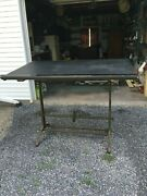 1900s Drafting Desk - With Sliding Rule May Be Very Rare Item.