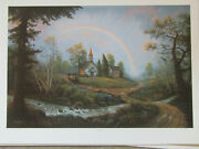 Jesse Barnes Signed And Numbered Le Print And Coa God's Promise  229/2800