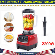 2l 2200w Heavy Duty Commercial Grade Blender Mixer Juicer Food Processor Ice Smo