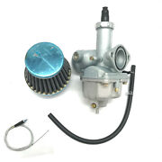 Carburetor And Throttle Cable Air Filter Honda Cb125s Xr100 Crf100f Xl100s Xr200r