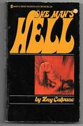 Tony Calvano One Manand039s Hell 1973 Vintage Adult Erotic Sleaze Greenleaf Classics