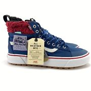 Men's The Simpsons X Sk8-hi Mte 2.0 Dx Mr. Plow Skate Shoes Size 11 In Hand