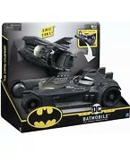 Batmanbatmobile And Batboat 2-in-1 Transforming Vehiclefor Use 4-inch Action F