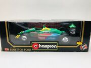 Vintage Champion Model 6102 Benetton Ford F1 Racing Car 20 Die-cast 1/18 Scale