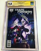 Cgc Ss 9.8 Transformers Prime 1 Signed Cullen Welker Ironside Combs Friedle +2