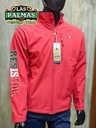 Mens Resistol Marketing Soft Shell Jacket Mexico Theme Colors Red